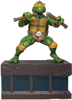 Teenage Mutant Ninja Turtles PVC 8 Inch Statue Figure 1/8 Scale - Michelangelo