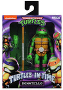 Teenage Mutant Ninja Turtles 7 Inch Action Figure Turtles In Time - Donatello
