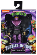 Teenage Mutant Ninja Turtles 7 Inch Action Figure Turtles In Time - Foot Soldier