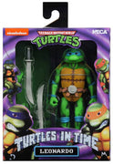 Teenage Mutant Ninja Turtles 7 Inch Action Figure Turtles In Time - Leonardo