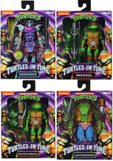 Teenage Mutant Ninja Turtles 6 Inch Turtles In Time Series 2 - Set Michelangelo - Raphael - Leatherhead - Super Shredder