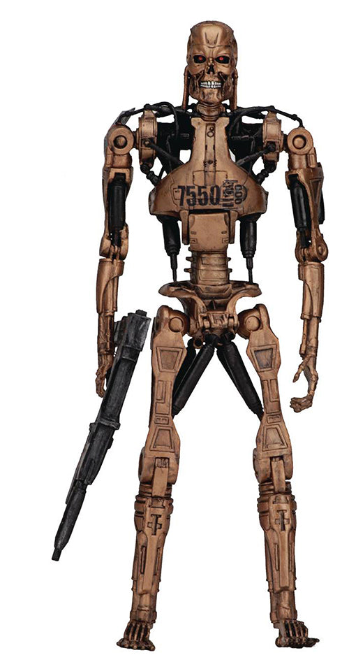 Terminator Kenner Tribute 7 Inch Action Figure Series 1 - Metal Mash Endoskeleton
