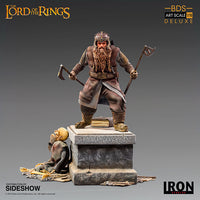 The Lord of the Rings 8 Inch Statue Figure 1:10 Art Scale - Gimli Deluxe Iron Studios 906279