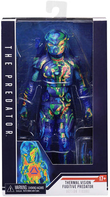 The Predator 7 Inch Action Figure Movie Series - Thermal Vision Fugitive Predator