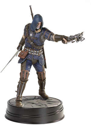The Witcher 3 Wild Hunt 9 Inch Statue Figure - Geralt Grandmaster Feline