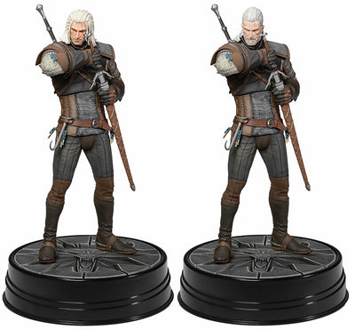 The Witcher 3 Wild Hunt 9 Inch Statue Figure - Geralt Heart Of Stone