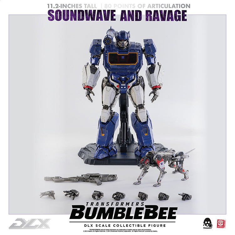Transformers Bumblebee 11 Inch Action Figure Premium Scale - Soundwave Deluxe