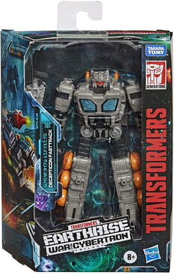 Transformers Earthrise War For Cybertron 6 Inch Action Figure Deluxe Class (2020 Wave 3) - Fasttrack