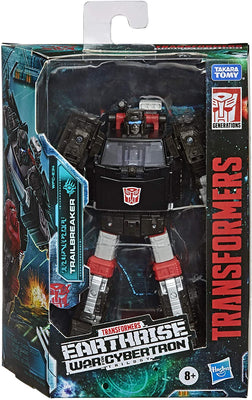 Transformers Earthrise War For Cybertron 6 Inch Action Figure Deluxe Class (2020 Wave 3) - Trailbreaker
