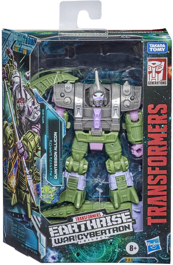 Transformers Earthrise War For Cybertron 6 Inch Action Figure Deluxe Class (2020 Wave 2) - Quintesson Allicon