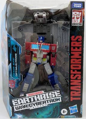Transformers Earthrise War For Cybertron 8 Inch Action Figure Leader Class - Optimus Prime