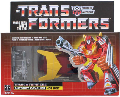 Transformers Generation 1 6 Inch Action Figure Commemorative Series - Hot Rod Classic Re-Issue