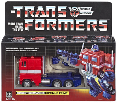 Transformers Generation One 6 Inch Action Figure 2018 Reissue Series - Optimus Prime (Sub-Standard Packaging)