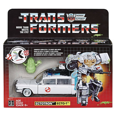 Transformers Generations Ghosbusters 7 Inch Action Figure Deluxe Class - Ecto-1 Ectoton