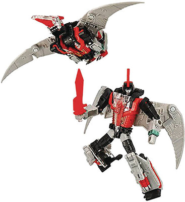 Transformers Generations Select 6 Inch Action Figure Deluxe Class - Dinobot Red Swoop Exclusive (Non Mint Packaging)