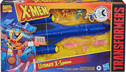 Transformers Marvel 12 Inch Vehicle Figure X-Men Exclusive - Ultimate X-Spanse