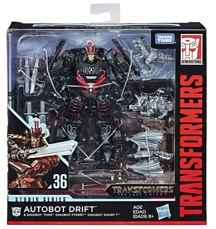 Transformers Movie Studio Series 6 Inch Action Figure Deluxe Class - Drift