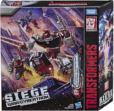 Transformers Siege War For Cybertron Deluxe Class 6 Inch Action Figure 3-Pack Exclusive - Alphastrike Counterforce
