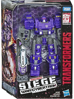 Transformers Siege War For Cybertron 6 Inch Action Figure Deluxe Class - Brunt