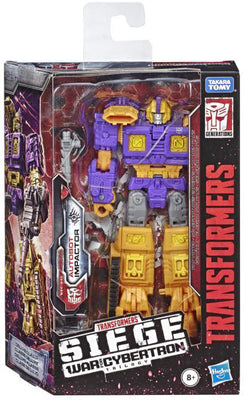 Transformers Siege War For Cybertron 6 Inch Action Figure Deluxe Class - Impactor