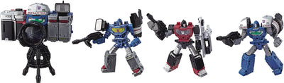 Transformers Siege War For Cybertron 6 Inch Action Figure Deluxe Class - Refraktor 3-Pack