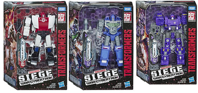 Transformers Siege War For Cybertron 6 Inch Action Figure Deluxe Class - Set of 3 (Red Alert - Refraktor - Brunt)