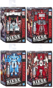 Transformers Siege War For Cybertron 6 Inch Action Figure Deluxe Class - Set of 4 (Ironhide - Chromia - Prowl - Six Gun)