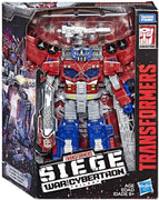 Transformers Siege War For Cybertron 8 Inch Action Figure Leader Class - Galaxy Upgrade Optimus Prime