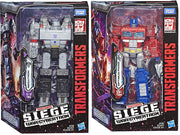 Transformers Siege War For Cybertron 7 Inch Action Figure Voyager Class Wave 1 - Set of 2 (Optimus Prime & Megatron)