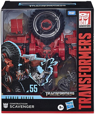 Transformers Studio Dark Of The Moon 8 Inch Action Figure Leader Class - Scavenger #55
