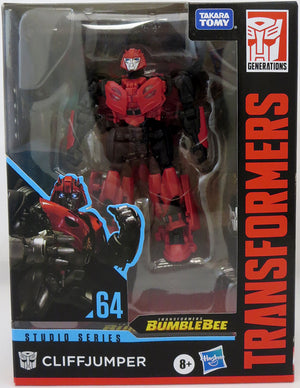 Transformers Studio Series 6 Inch Action Figure Deluxe Class (2020 Wave 3) - Cliffjumper #64