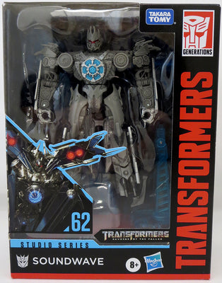 Transformers Studio Series 6 Inch Action Figure Deluxe Class (2020 Wave 3) - TF2 Soundwave #62