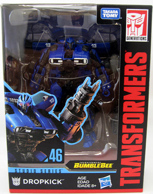 Transformers Studio Series 6 Inch Action Figure Deluxe Class - Dropkick #46