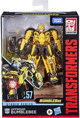 Transformers Studio Series 6 Inch Action Figure Deluxe Class - Offroad Bumblebee #57