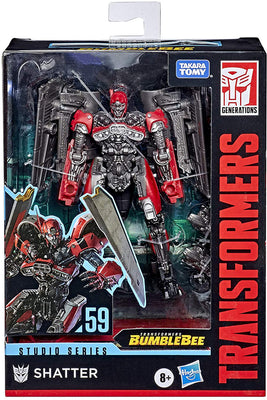 Transformers Studio Series 6 Inch Action Figure Deluxe Class - Shatter #59