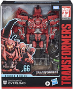 Transformers Studio Series 8 Inch Action Figure Leader Class - Overload #66