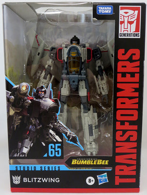 Transformers Studio Series 7 Inch Action Figure Voyager Class (2020 Wave 3) - Blitzwing #65