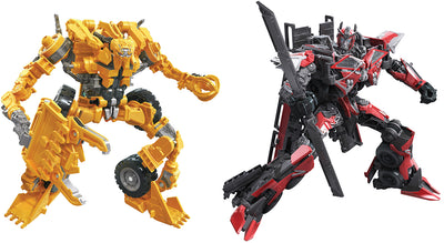 Transformers Studio Series 7 Inch Action Figure Voyager Class (2020 Wave 2) - Set of 2 (Scrapper - Sentinel Prime)