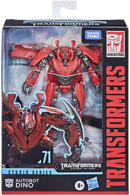 Transformers Studios Series 5 Inch Action Figure Deluxe Class (2021 Wave 2) - Dino #71