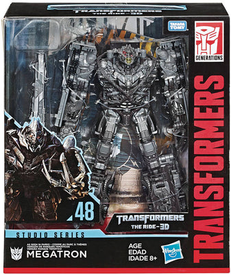 Transformers Studios Series The Ride 3D 8 Inch Action Figure Leader Class - Megatron #48