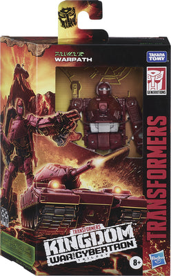 Transformers War For Cybertron Kingdom 6 Inch Action Figure Deluxe Class Wave 1 - Warpath WFC-K6
