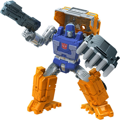 Transformers War For Cybertron Kingdom 6 Inch Action Figure Deluxe Class Wave 2 - Huffer