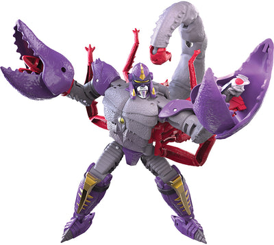 Transformers War For Cybertron Kingdom 6 Inch Action Figure Deluxe Class Wave 3 - Scorponok