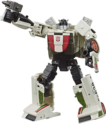 Transformers War For Cybertron Kingdom 6 Inch Action Figure Deluxe Class Wave 3 - Wheeljack Refresh