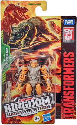Transformers War For Cybertron Kingdom 3.5 Inch Action Figure Legends Class Wave 1 - Rattrap WFC-K2