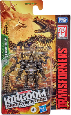 Transformers War For Cybertron Kingdom 3.5 Inch Action Figure Legends Class Wave 1 - Vertebreak WFC-K3
