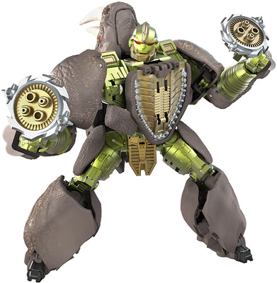 Transformers War For Cybertron Kingdom 7 Inch Action Figure Voyager Class Wave 3 - Rhinox