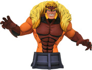 X-Men Animated 6 Inch Bust Statue - Sabretooth