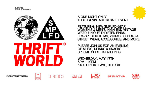 THRIFT WORLD Event - May 17th, 2017