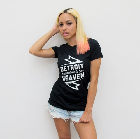 Detroit Turned Out to be Heaven Tee